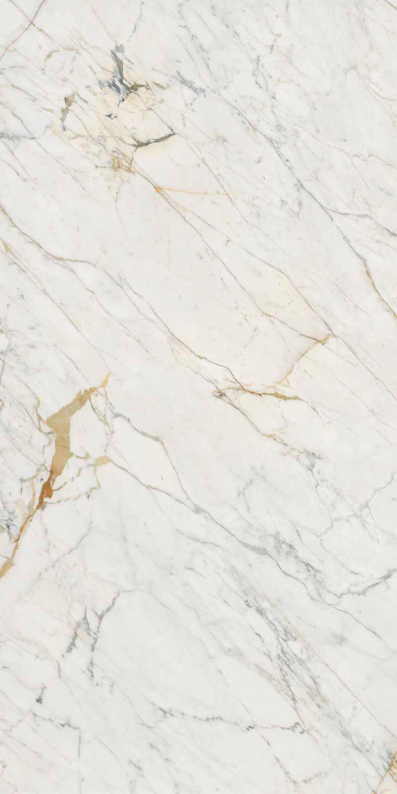 Grand Marble Look Golden White